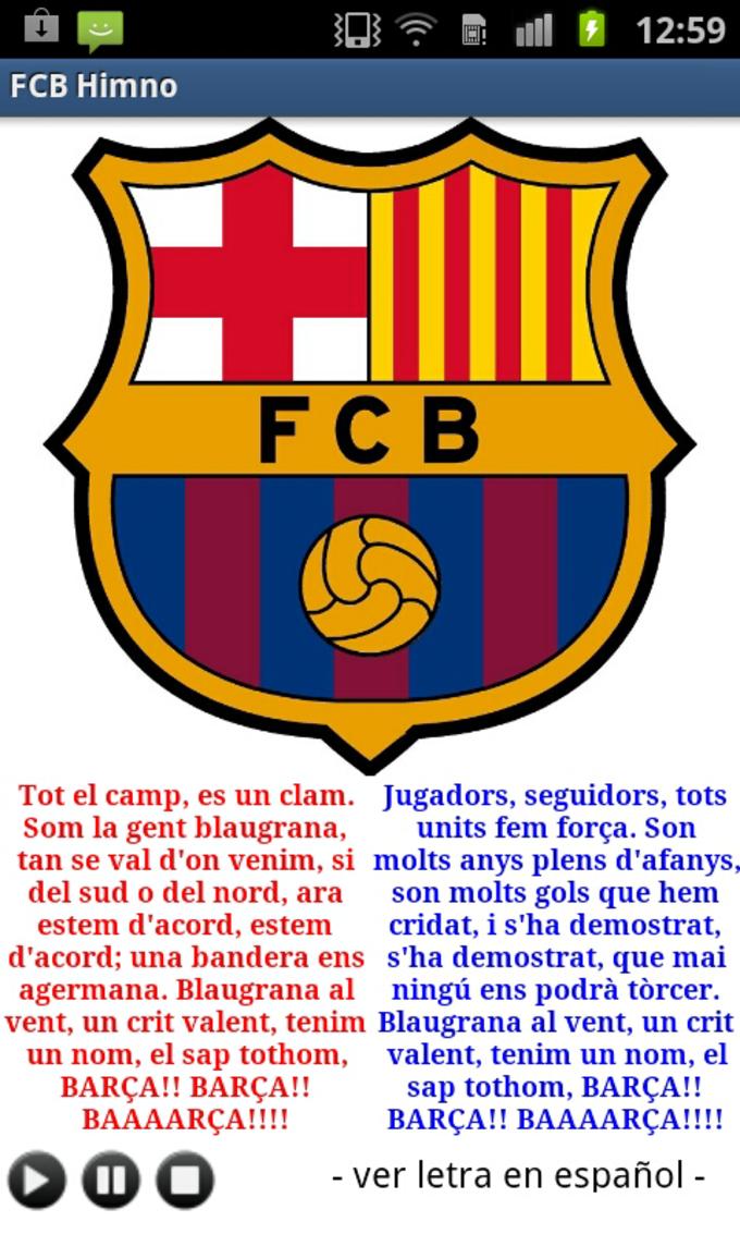 FCB Hymne