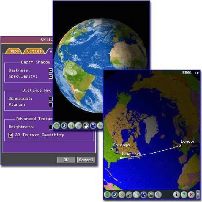 3d earth simulation