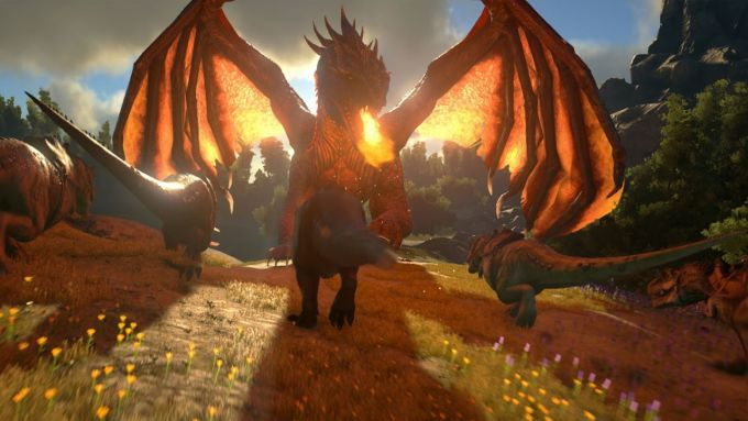 Dragon Mod for ARK Survival Evolved