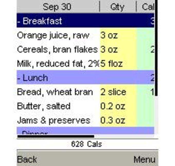 DietOrganizer Mobile Phones