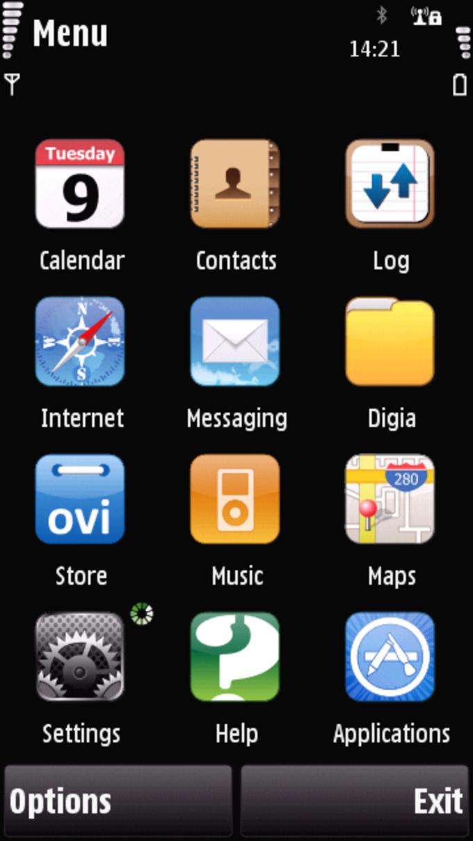 Tema iPhone