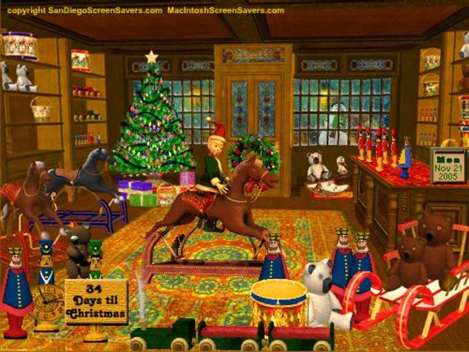 3D Magic Christmas Toy Shop