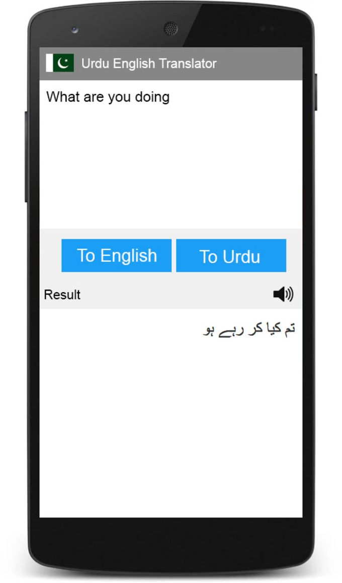 Urdu English Translator
