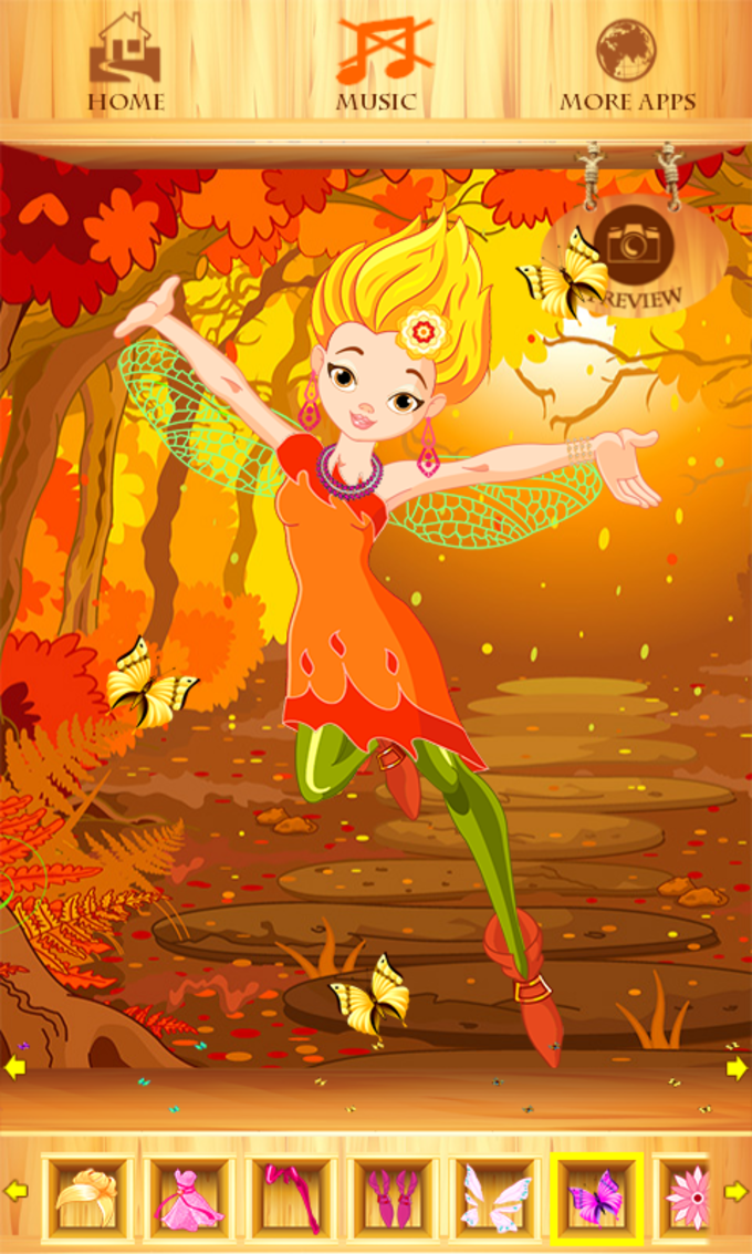 Dress Up Fairy Princess