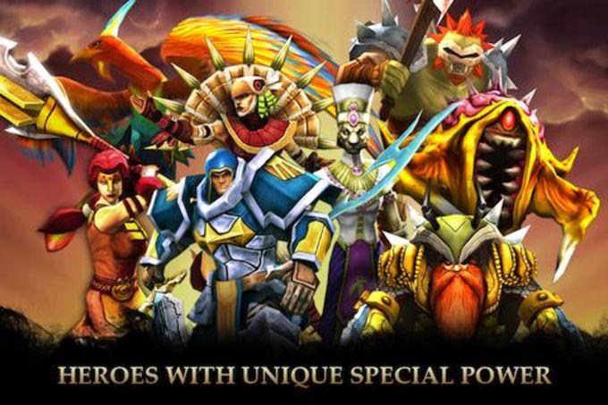 Legendary Heroes BR