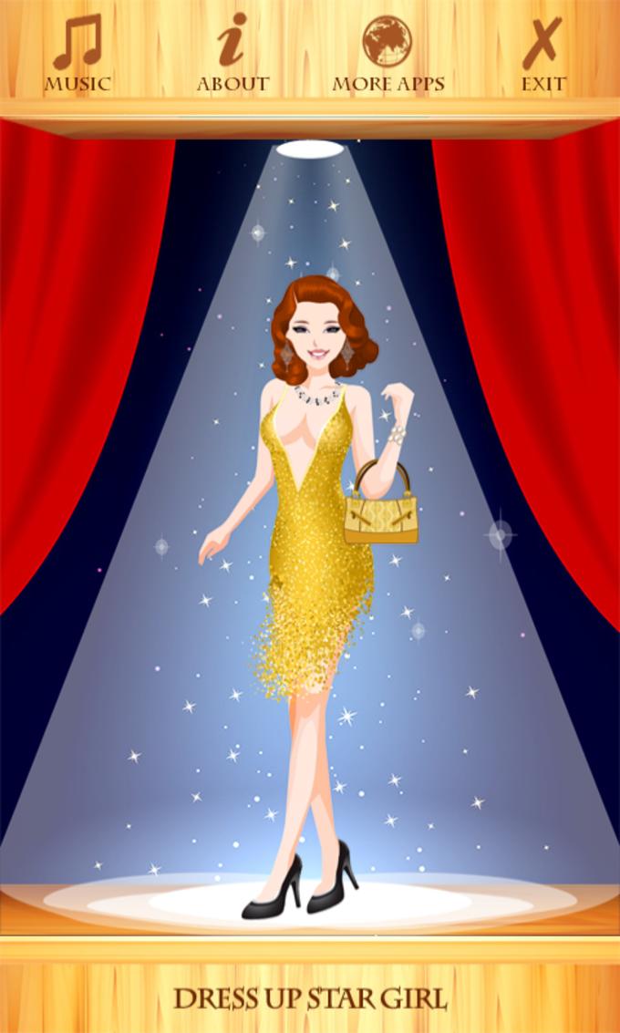 Dress Up Star Girl