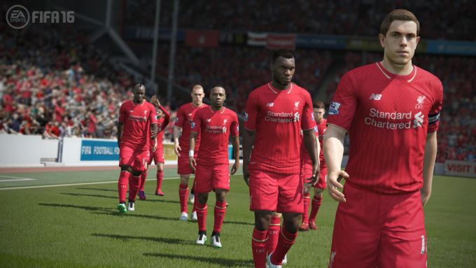 Realistic gameplay mod for FIFA 16