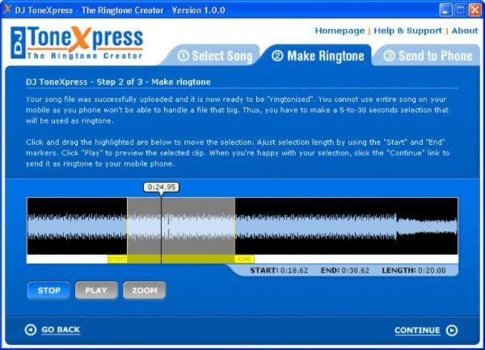 DJ ToneXpress The Ringtone Creator