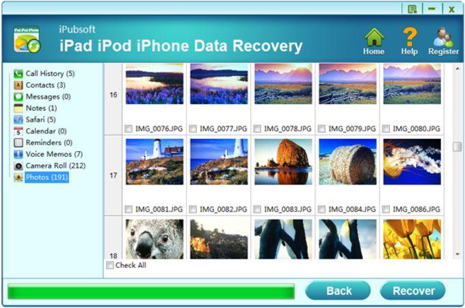 iPubsoft iPad iPhone iPod Data Recovery
