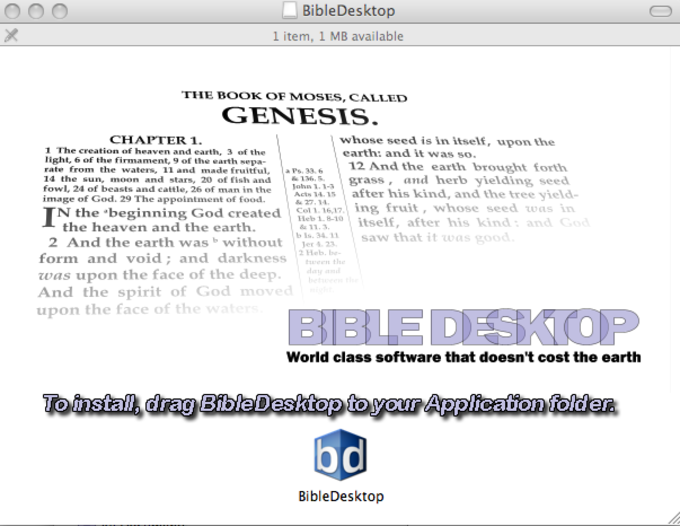 Bible Desktop