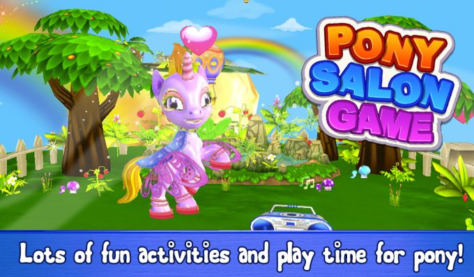 Pony Salon Game