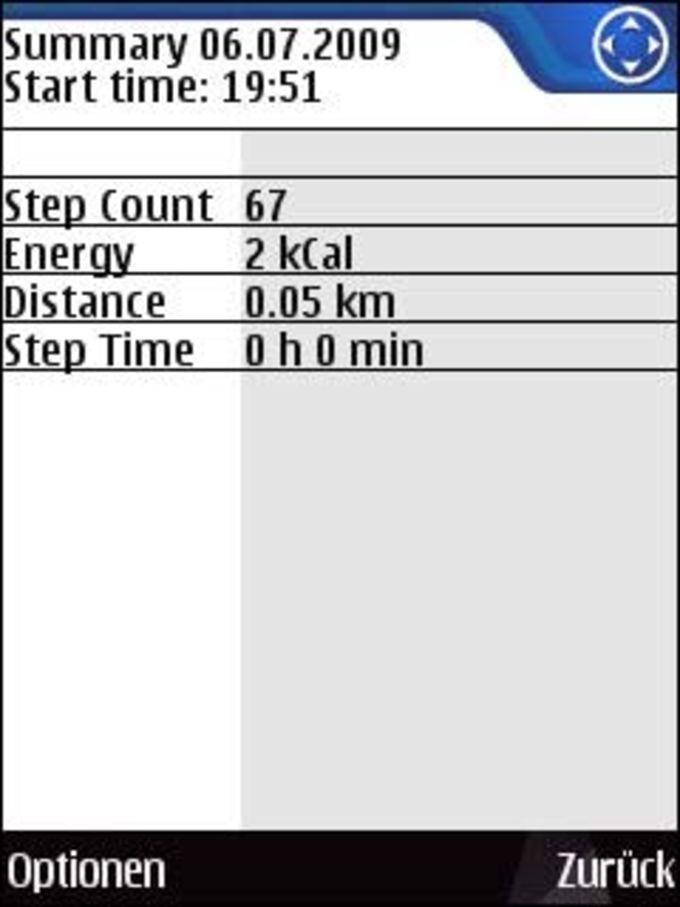 Nokia Step Counter