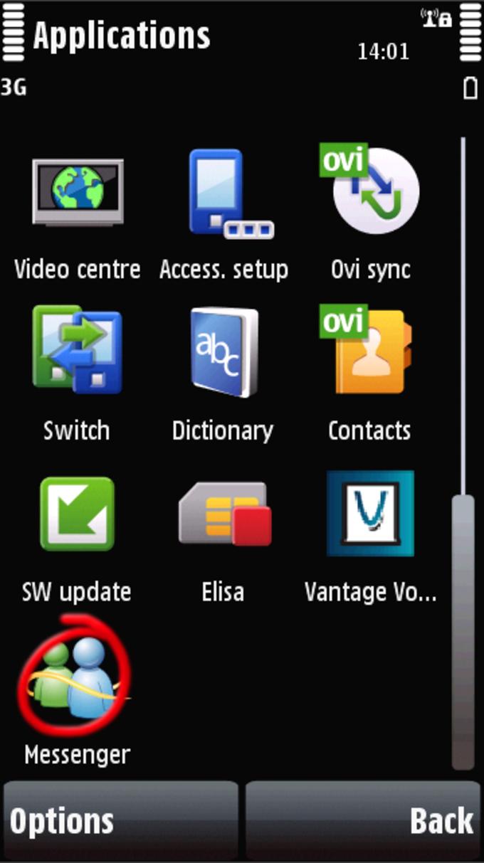 Windows Live Messenger Mobile