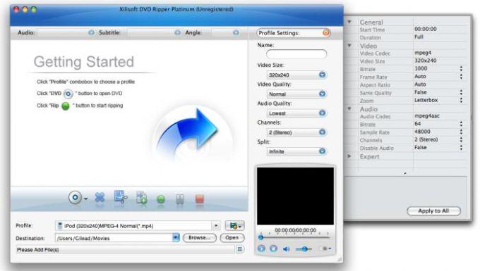 Xilisoft DVD Ripper