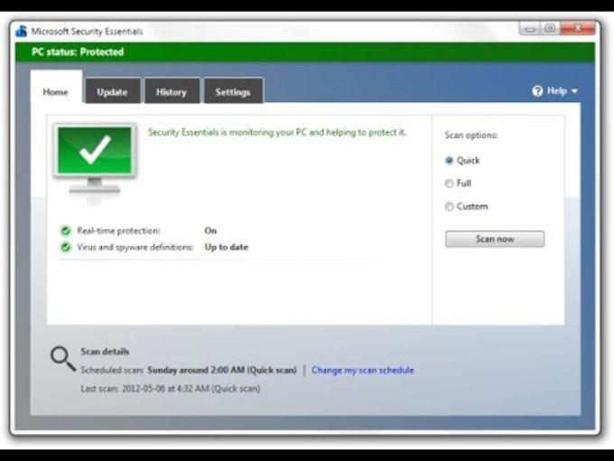 Microsoft Security Essentials voor Windows XP