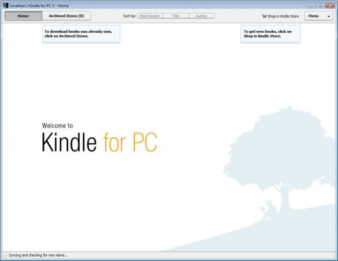 For ebook pc download kindle reader