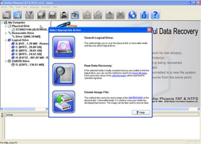 Stellar Phoenix NTFS Data Recovery Software