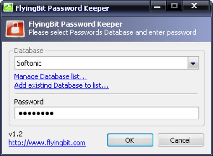 FlyingBit Password Keeper