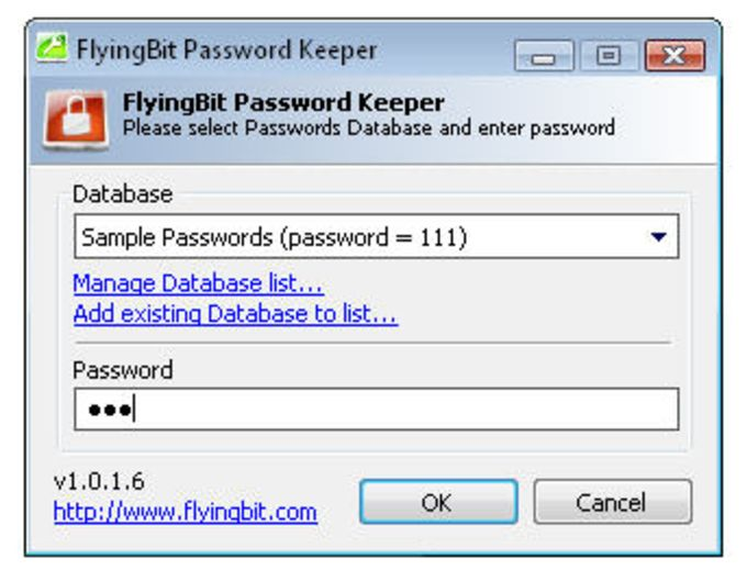 FlyingBit Password Keeper