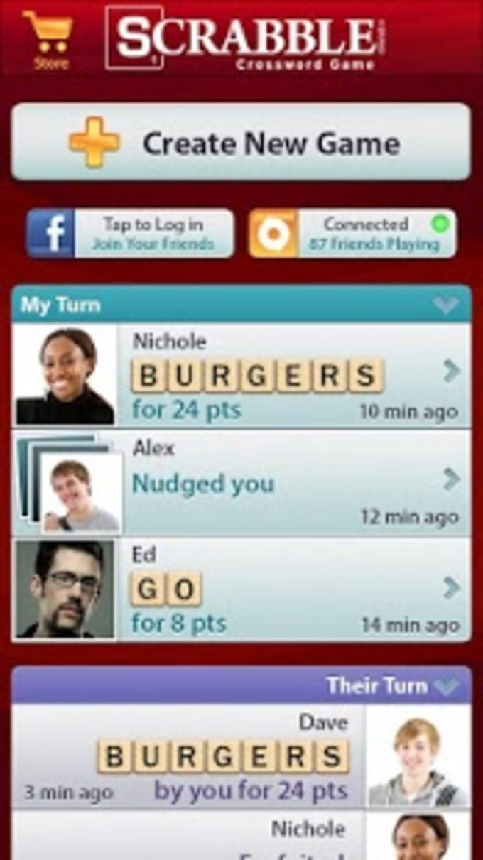 Scrabble App