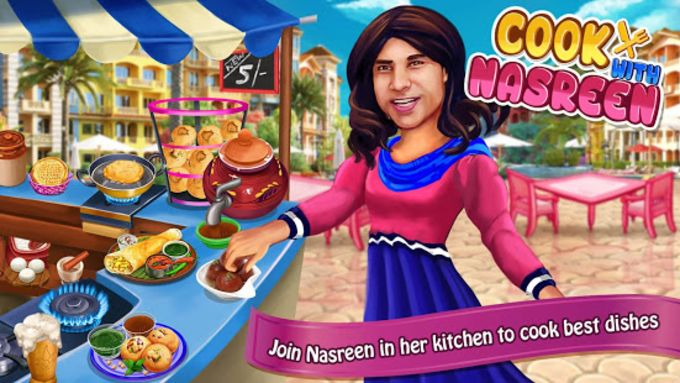 Cooking with Nasreen
