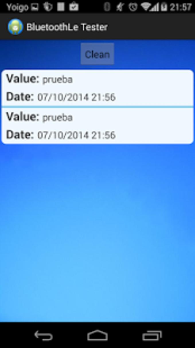 Arduino Bluetooth lte Test