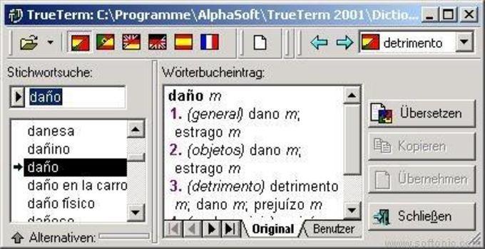 Travel Dictionary Spanish