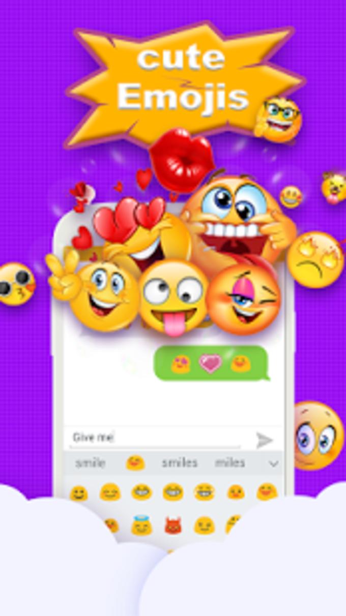 Emoji Keyboard - Cute Emoticons