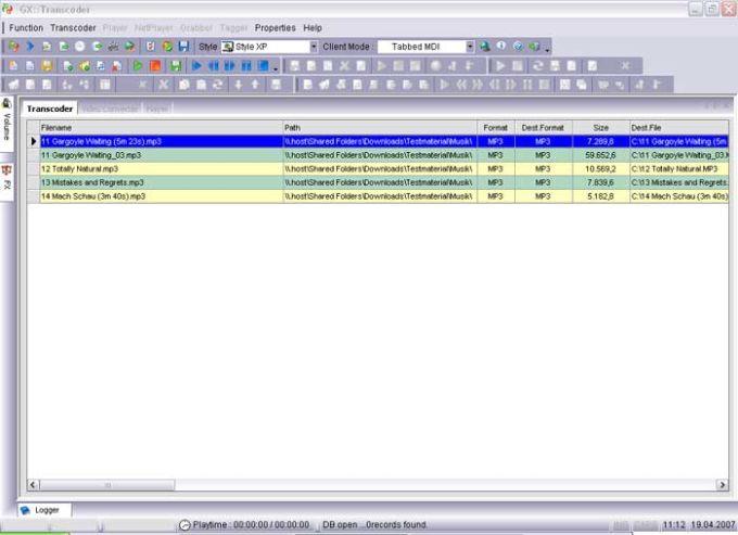 GX::Transcoder