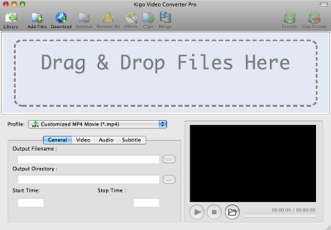 Kigo Video Converter Pro for Mac
