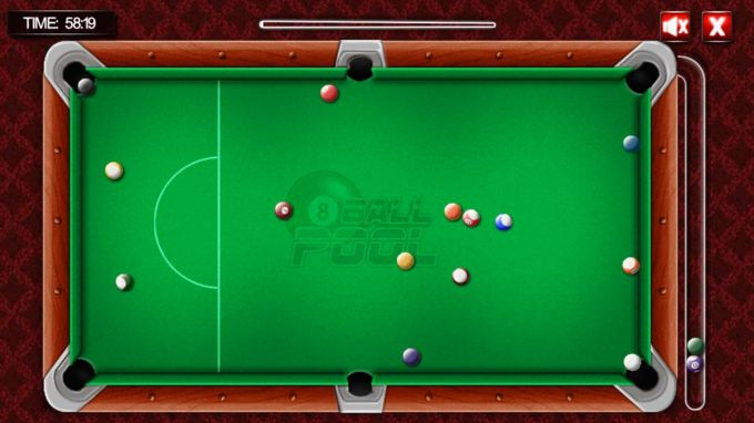 The 8 Ball Pool Billiards