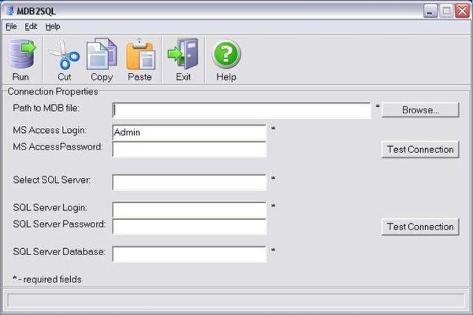 MDB2SQL Data Migration