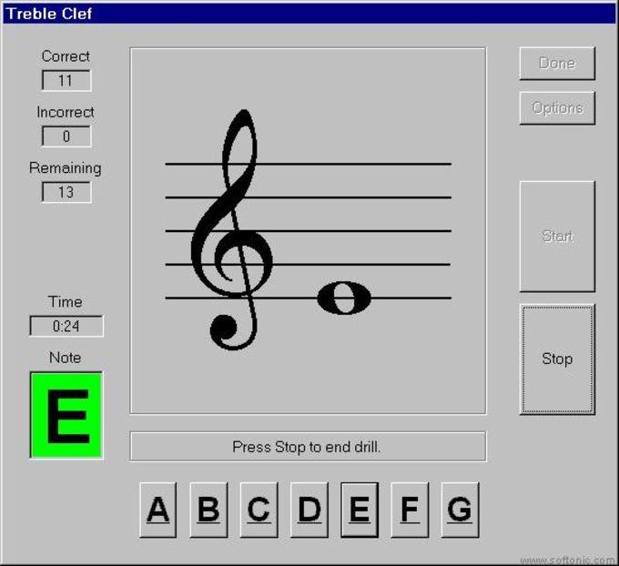 Keynote Music Drills
