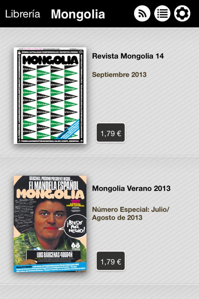 Revista Mongolia