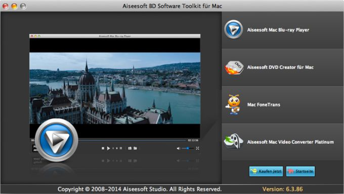Aiseesoft BD Software Toolkit für Mac