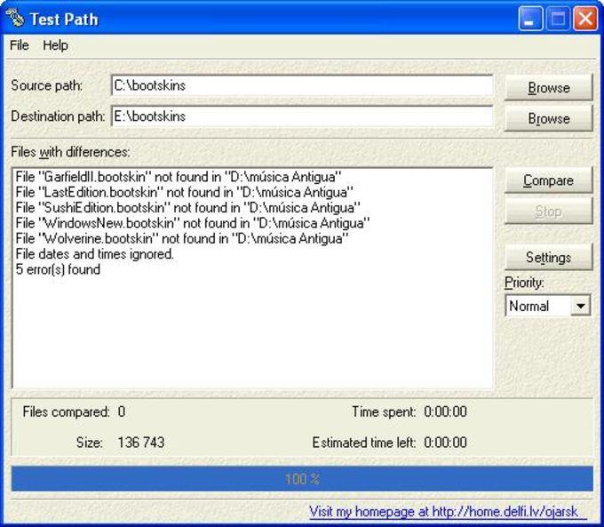 Test Path