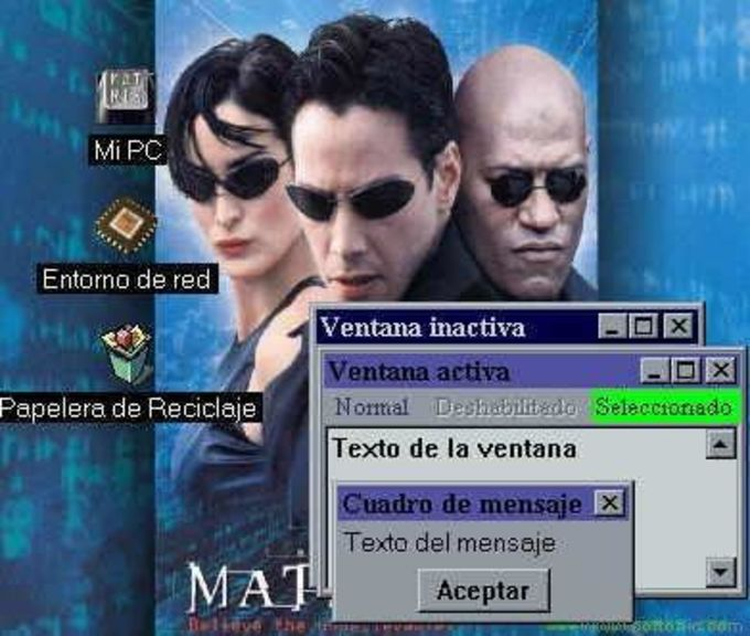 The Matrix Themes