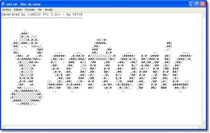 ASCII Pic