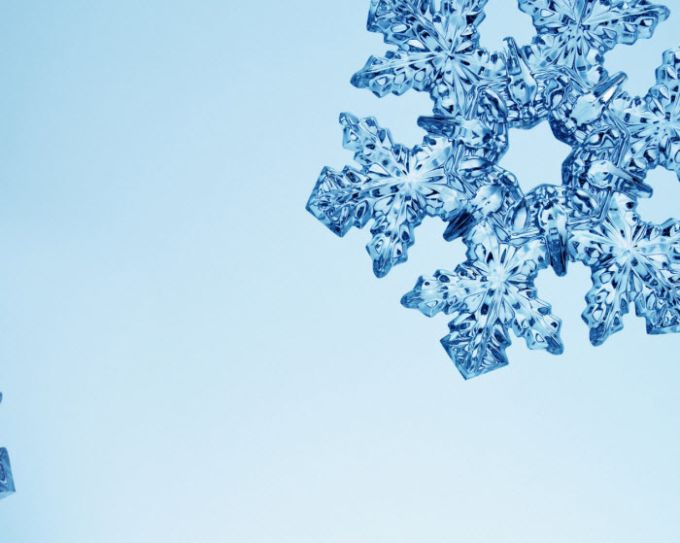 Snowflakes and Frost