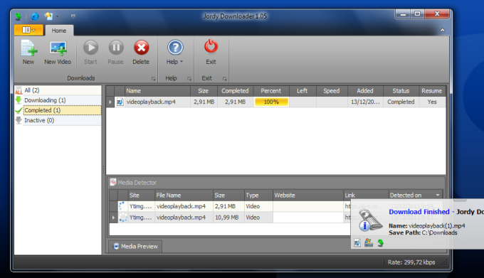 Jordy Video Downloader