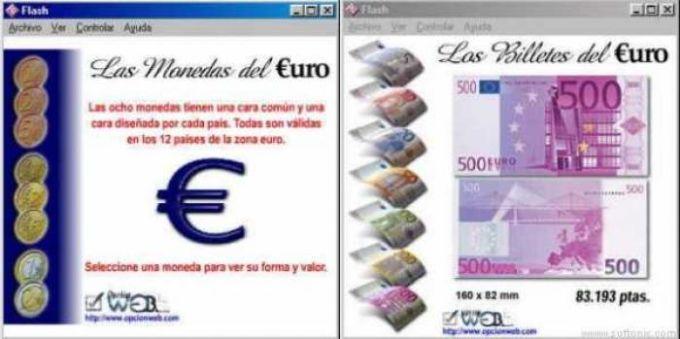 Billetes y Monedas Euro