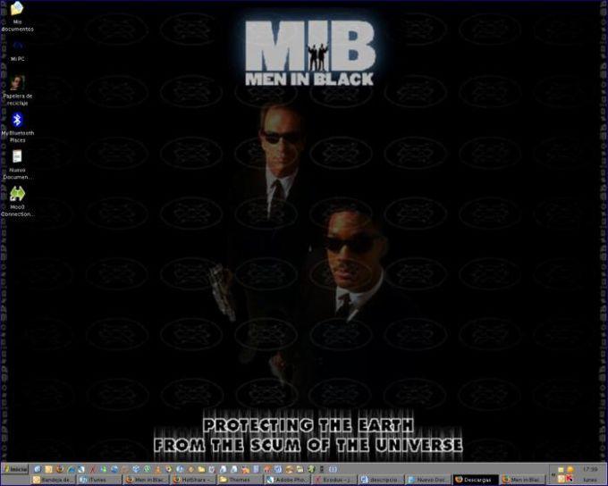 Men in Black Theme