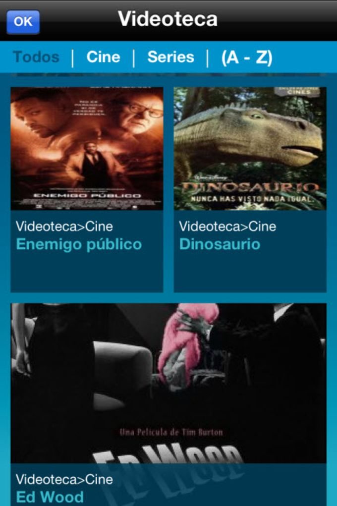 Movistar Imagenio Guía TV
