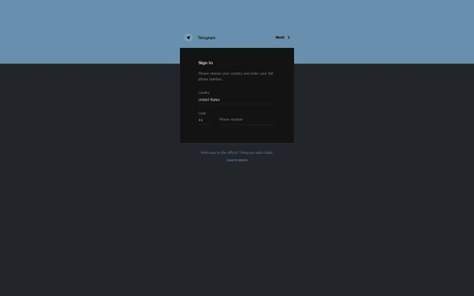 Web Telegram