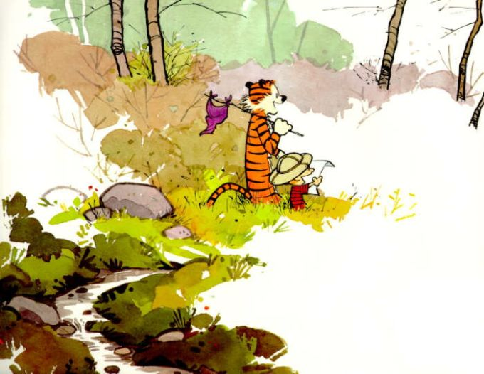 The Unofficial Calvin & Hobbes Theme