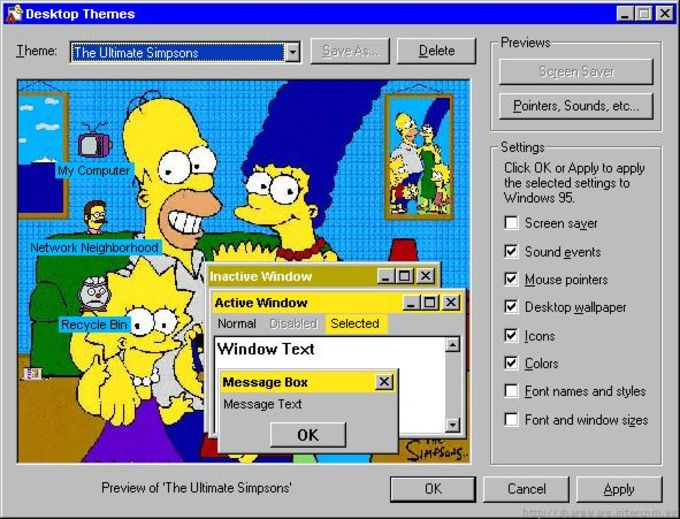 Tema The Ultimate Simpsons