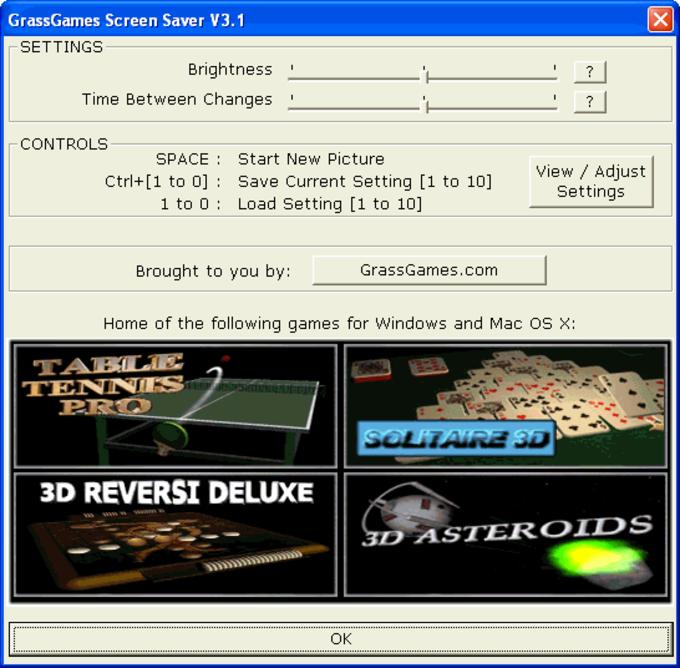 GrassGames ScreenSaver
