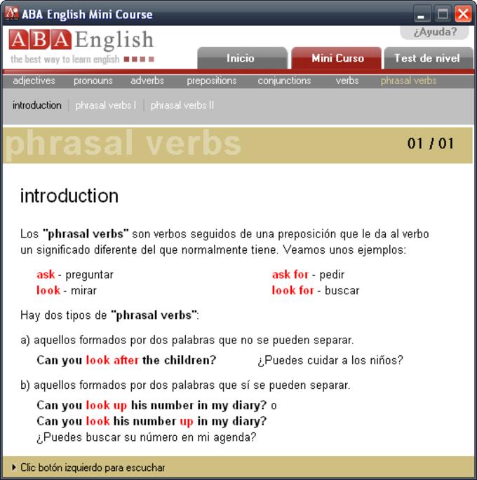 ABAEnglish MiniCourse