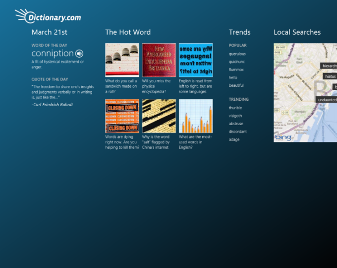 Shipra s Dictionary for Windows