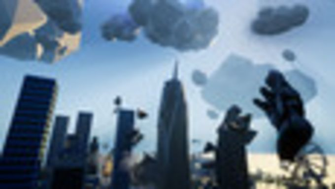 VRobot: VR Giant Robot Destruction Simulator
